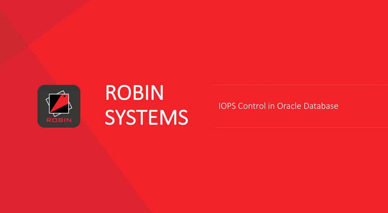 Controlling IOPS in a shared Environment