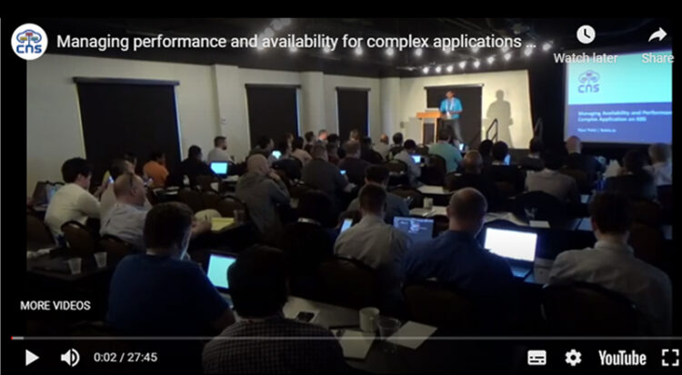 Managing performance and availability for complex applications on Kubernetes – Robin