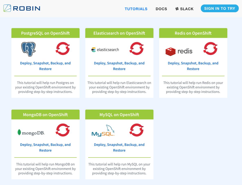 Robin Cloud Native Storage Tutorials