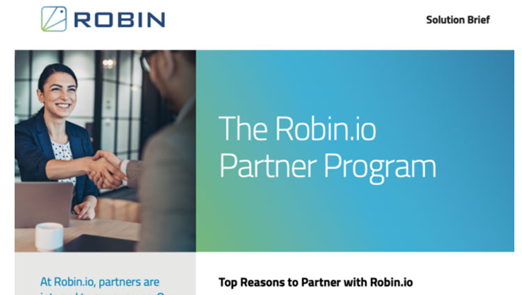 Robin.io Partner Program Brief