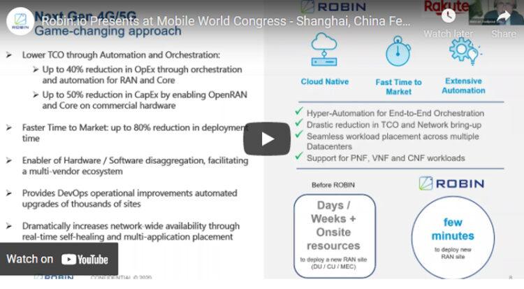 Robin.io Presents at Mobile World Congress, February 2021