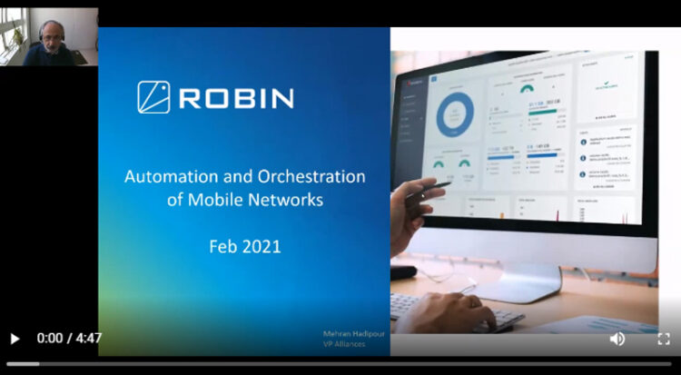 Robin.io Presents at Telecom Council February Startup Review