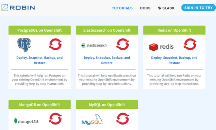 End-to-end Robin CNS on OpenShift Tutorials