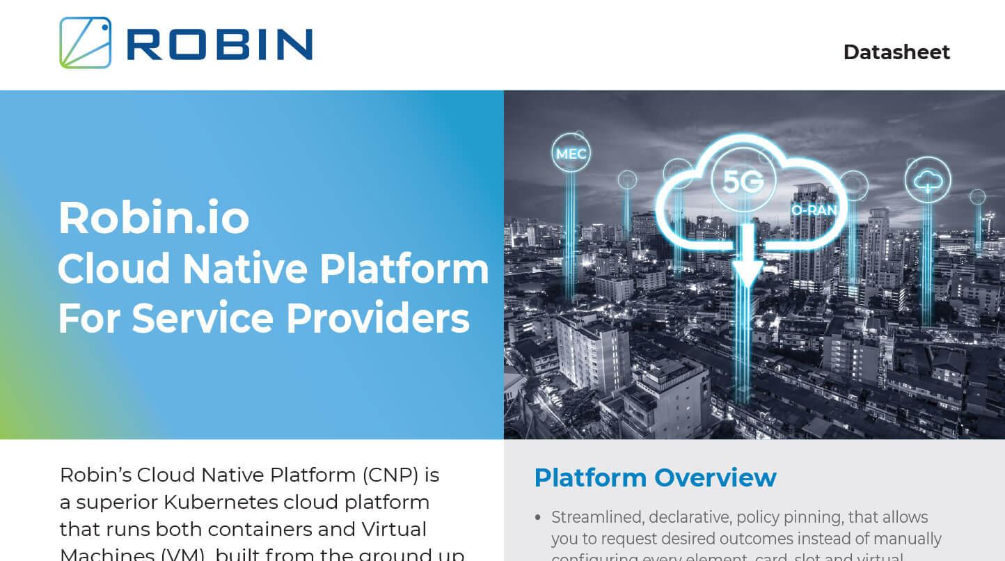 Cloud Native Platform For Providers Data Sheet