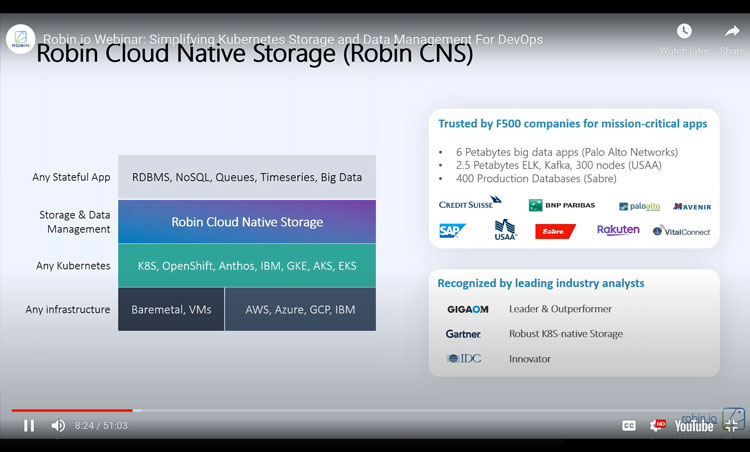 Simplifying Kubernetes Storage and Data Management For DevOps